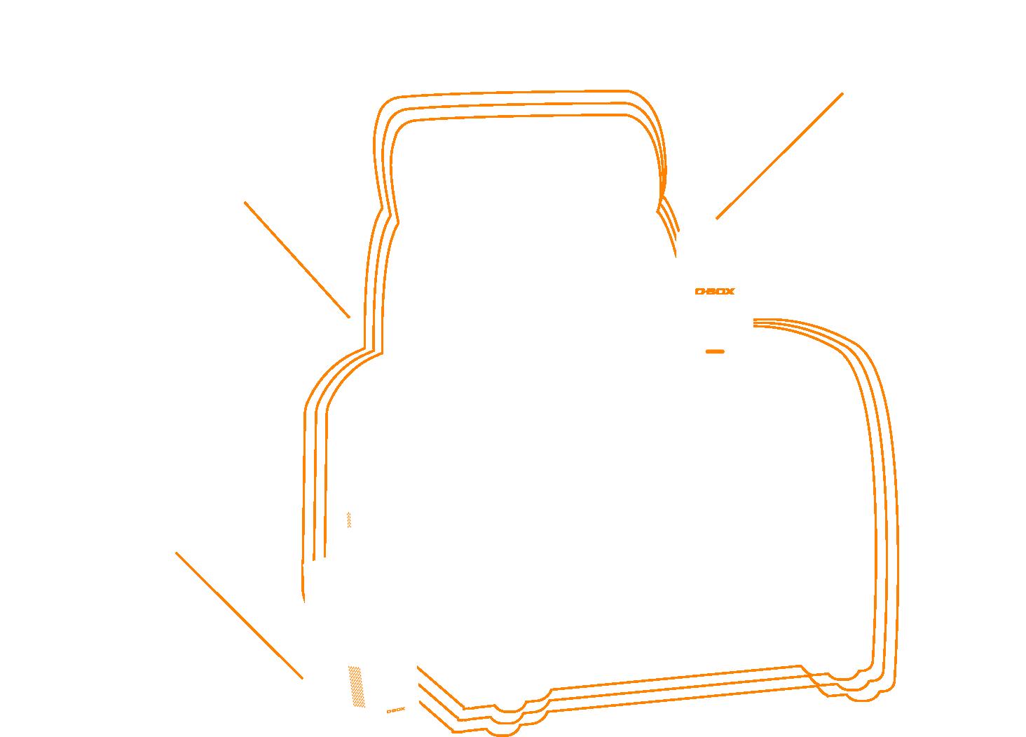 D-BOX Haptic seat schema